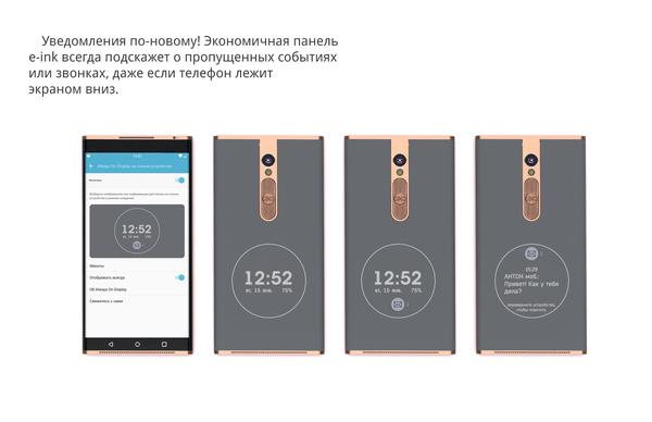 Концепт телефона. Мой взгляд Телефон, Концепт, Экран, Электронные чернила, Oled, Длиннопост