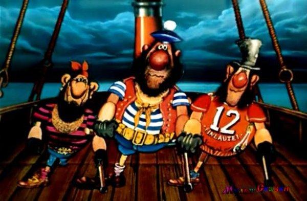 Чёта как-то падазрительна - странные совпадения :) Странности, Пираты, Бандиты, Разбойники, Совпадение, Мультфильмы, Длиннопост