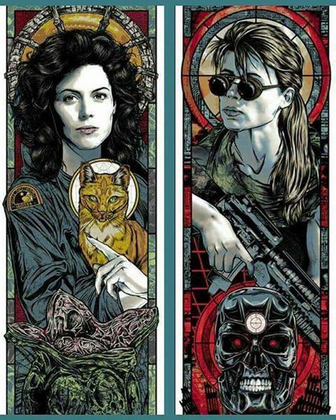 Святые великомученицы Елена и Сара.