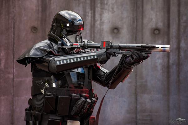 """Костюм """"Death Trooper"""", напечатанный на 3D-принтере Star wars, Изгой-Один, Звездные войны: изгой один, Штурмовик, Фото, Косплей"""