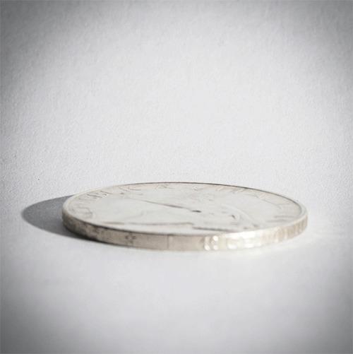 Необычные поделки из монет Своими руками, Кольцо, Монета, Браслет, Серебро, Серьги, Гифка, Длиннопост