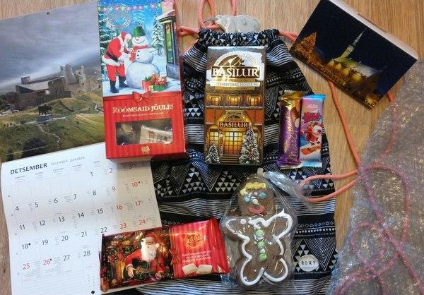 Tere! Мой тайный Санта из Эстонии. Обмен подарками, Тайный Санта, Эстония, Длиннопост