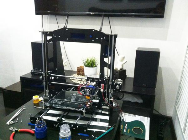 Как я собирал свой первый 3D принтер со стальной рамой 3d печать, Prusa, Arduino, Длиннопост, Ramps
