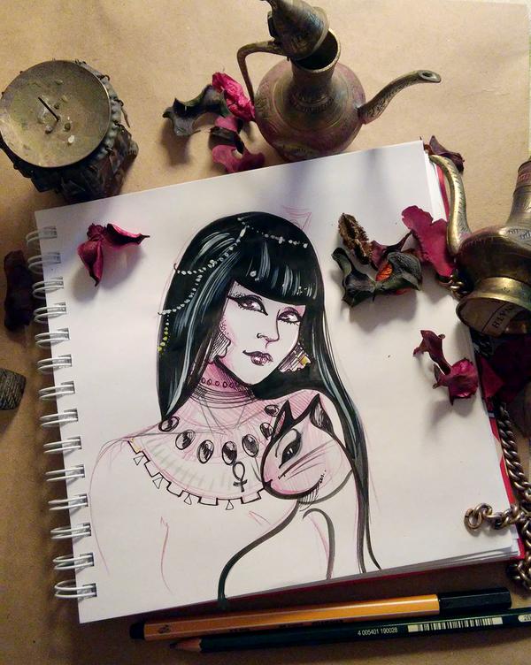 """просто накидай аксессуарчиков"" =))))) карандаш, маски, Звездочки на небе, шерлок, девушки, длиннопост"