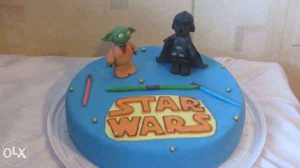 Вдогонку к торту с Трансформерами торт, star wars, упоротость, с просторов