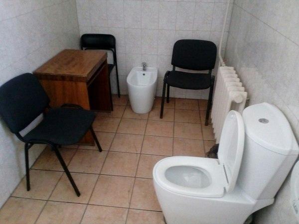 Туалет в Омском областном суде Туалет, Суд, Зачем, Омск, Моё