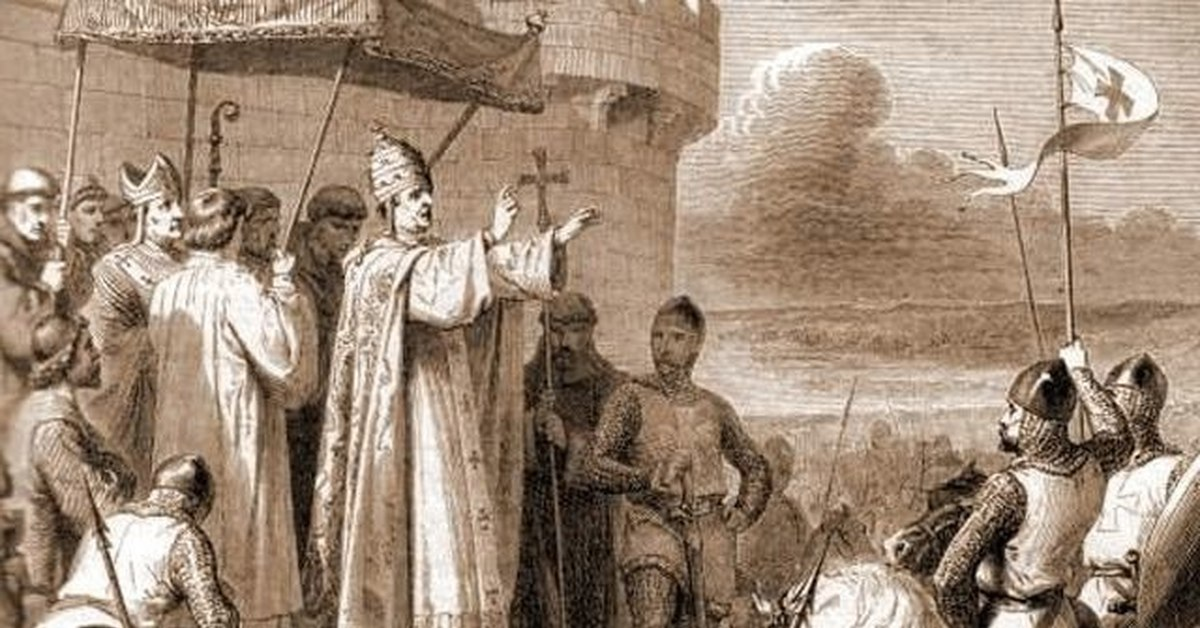 a look at the idea of pope urban ii in the crusades