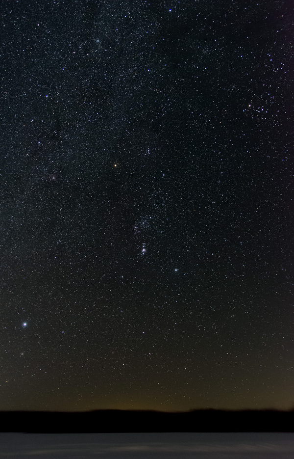 Космическое Астрофото, Небо, Созвездие Ориона, Телескоп, Длиннопост