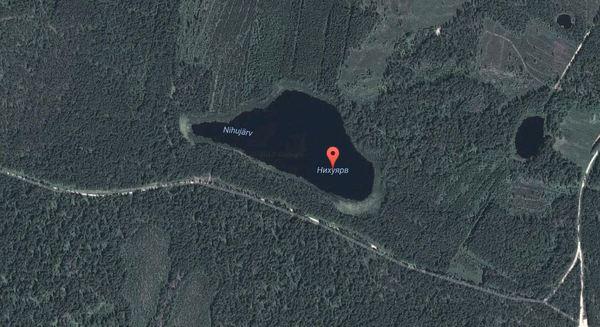Искал тут озеро на юге Эстонии, ну мало ли куда съездить порыбачить. Озеро, Эстония, Природа, Рыбалка, Тут рыбы нет