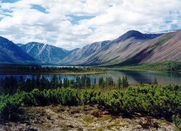 Озеро Юг,Магаданская область. Озеро, Природа, красота, Магаданская область, Россия, Фото