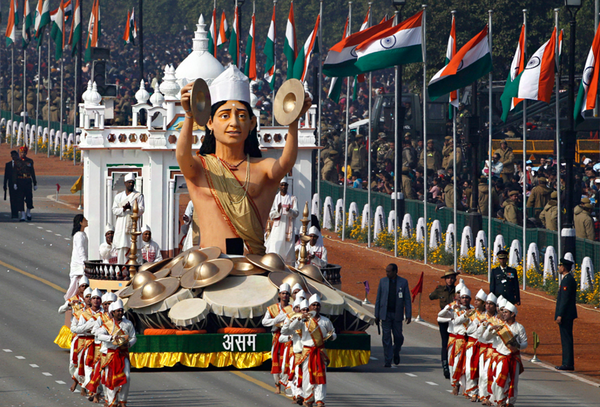 Парад в честь Дня Республики в Индии Индия, Праздники, Парад, День независимости, Военные, Карнавал, Азия, Длиннопост
