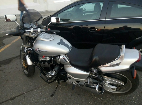Достаточно начать...Продолжение мотоциклетных историй. Часть 5. Мото, Honda, Хонда, Дорожные рабочие, Опасность, Мотоциклы, Длиннопост