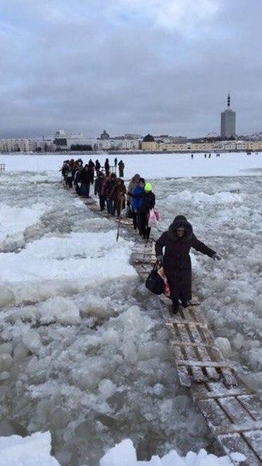 Путь домой Архангельск, Переправа, Река, Длиннопост