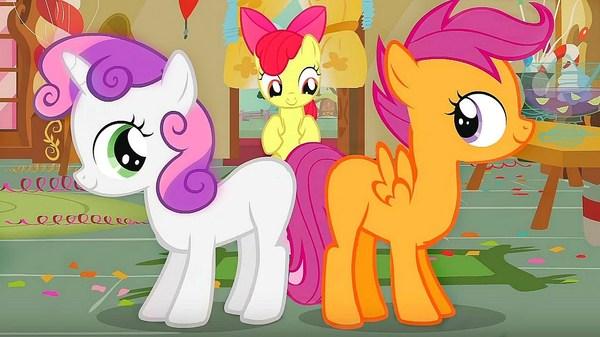 В мультике про пони - трейлер ЗВОНКА. my little pony, мультфильм, дружба - это чудо, звонок, ужасы, youtube