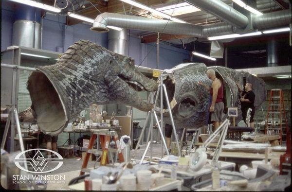 Динозавры Юрского парка Парк Юрского Периода, Голливуд, аниматроника, спецэффекты, динозавры, видео, длиннопост