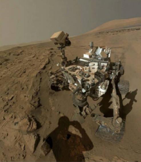 Марсоход Curiosity отмечает третий год своей исследовательской миссии! Марсоход, Curiosity, Марс, Космос