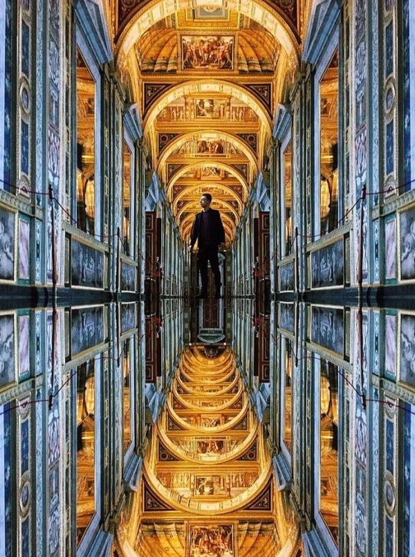 Лоджии Рафаэля... Санкт-Петербург, Эрмитаж, Зимний дворец, Лоджии Рафаэля, Ватикан