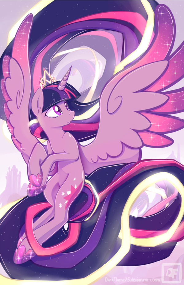 The Chosen One My little pony, Twilight Sparkle, Рисунок