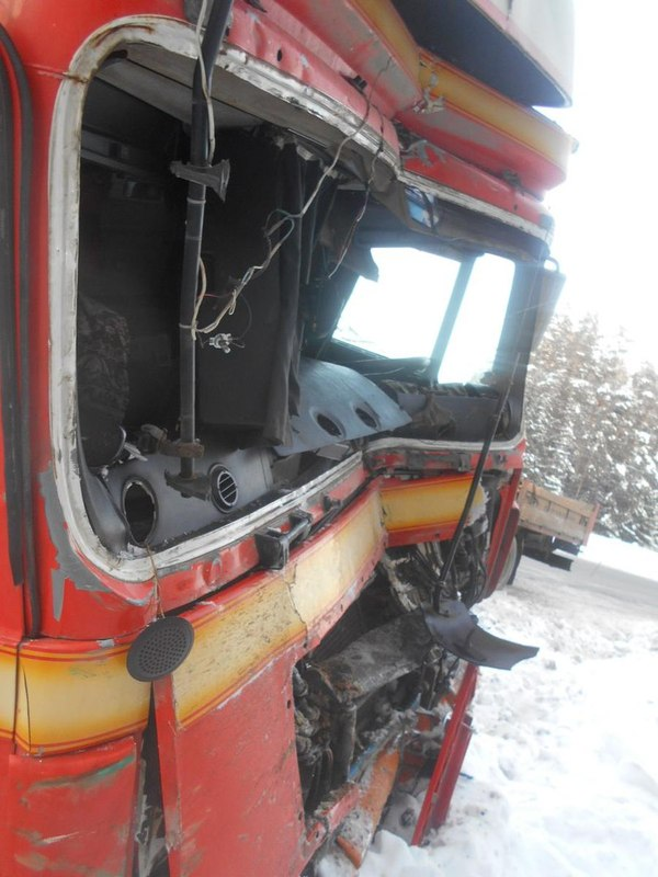 ДТП в Удмуртии дтп, авария, грузовик, Удмуртия, Видео, длиннопост