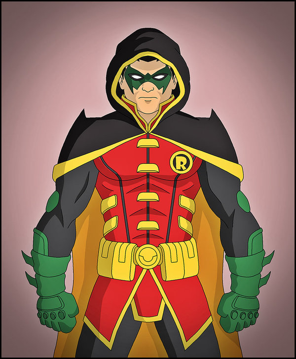 Бэт-Семейство от художника Dragos Dragan Супергерои, Dc comics, Робин, Бэтгерл, Арт, Длиннопост