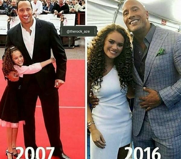 Дочурка выросла