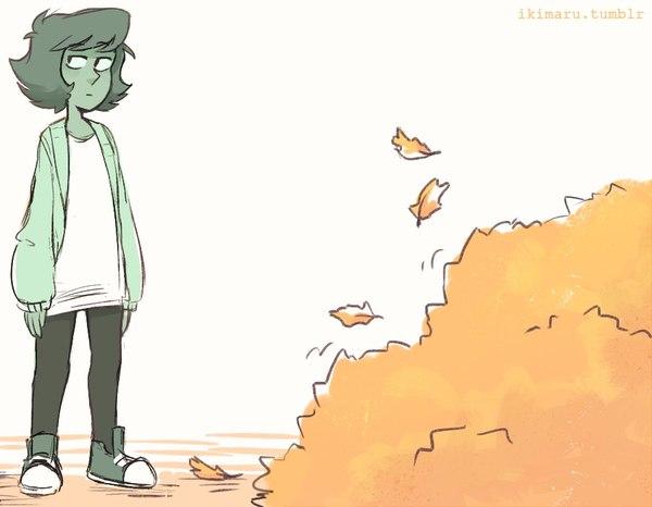 Что такое осень? Steven Universe, Lapis Lazuli, Peridot, Комиксы, Длиннопост