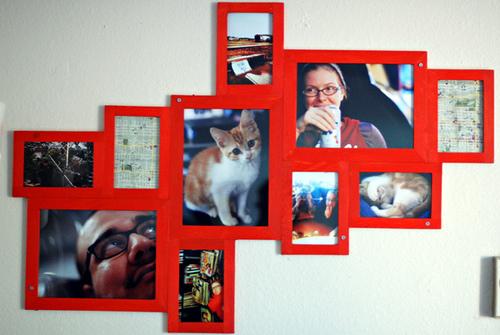фотографии с рамкой из сделать коллаж