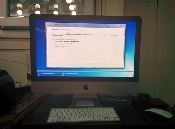 Windows на Mac Mac os, Windows, Windows 7, Издевательство, Apple