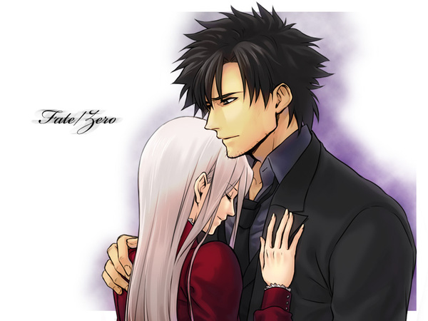 Fate/Zero Kiritsugu x Irisviel Fate Zero, Fate, Emiya Kiritsugu, Irisviel von einzbern, Anime Art, Drama CD, Спойлер