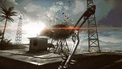 Когда уже достаточно потренировался в игре... Лук, Стрельба из лука, Стрельба, Fail, Гифка, Battlefield 4