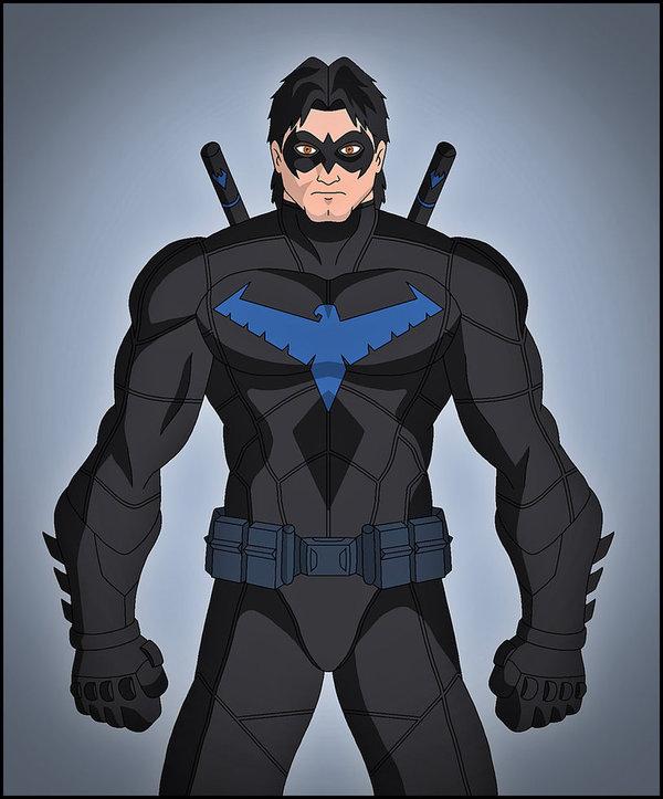 Герои и злодеи DC от художника Dragos Dragan Супергерои, Суперзлодеи, Найтвинг, Зум, Dc comics, Длиннопост, Арт