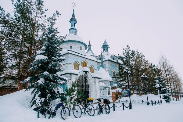 Устроим #icebikechallenge ? велосипед, покатались, покатушки, Оренбург, оренвело