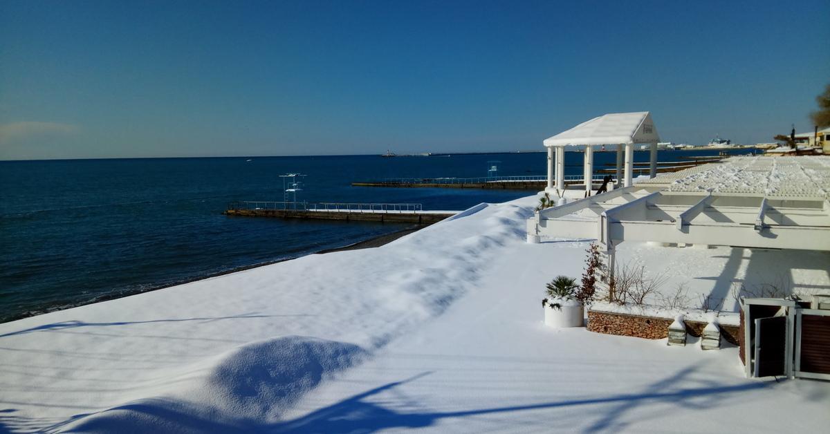 ленточном море в сочи зимой фото этих