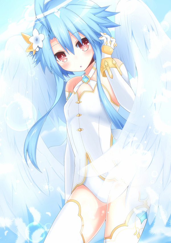 White Heart Hyperdimension Neptunia, White Heart, Anime Art, Аниме, Haru blanc0316