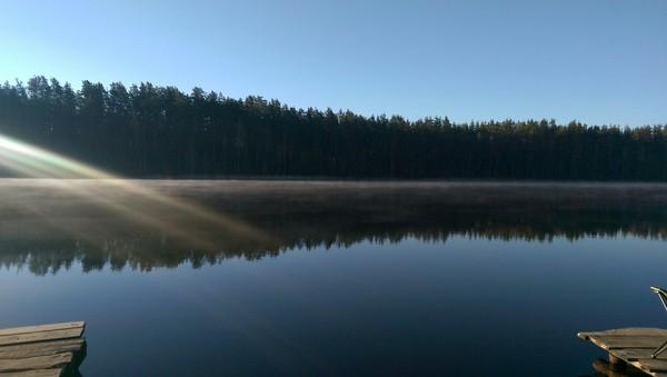 Утренняя красота завораживает Россия, красота природы, Природа, утро, без кофе