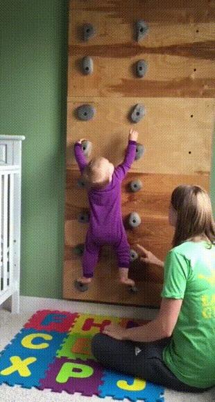 Будущий альпинист.