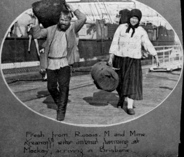 Приключения русских эмигрантов в Австралии. Часть 1 Длиннопост, Прошлое, Австралия, Русские, Эмиграция, Рабочее движение