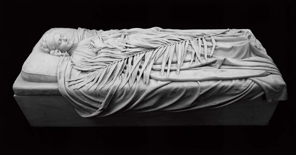 Tomb of Elizabeth Duveneck, Frank Duveneck, Museum of Fine Arts, Boston, USA, 1894. Мрамор, Academic Sculpture, Длиннопост