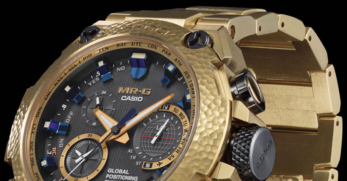 Золотые Casio G-Shock за 6500  - премиум часы для людей с тугим кошельком c35407a4ec6
