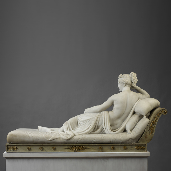 «Venus Victrix», Antonio Canova, Galleria Borghese, Rome, Italy, 1808. Мрамор, Academic Sculpture, Длиннопост