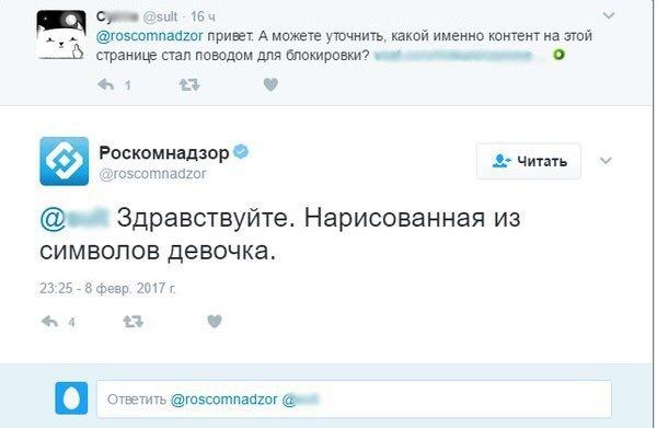 О том как работает Роскомнадзор роскомнадзор, девочка, символ, мат, длиннопост