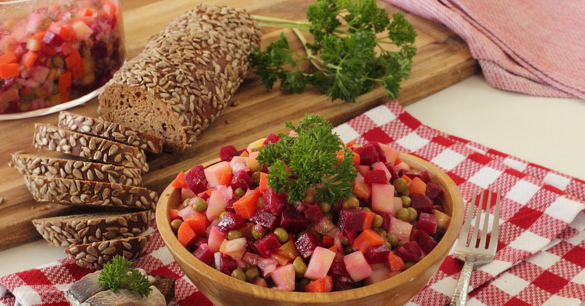 Картинки русского салата