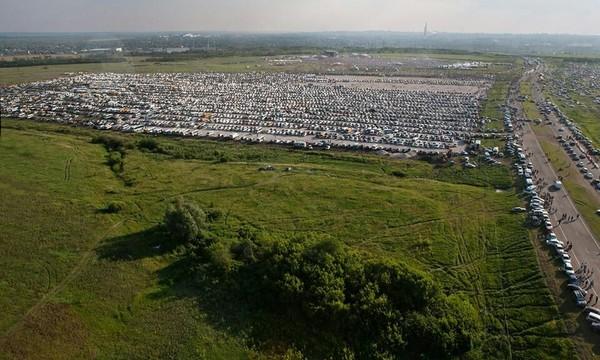 Про количество машин и людей. Музыка, рок-фестиваль, толпа, работа, длиннопост