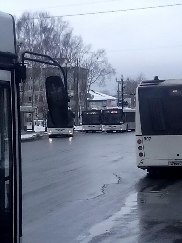 Коротко о интервалах новых автобусов в моем городе