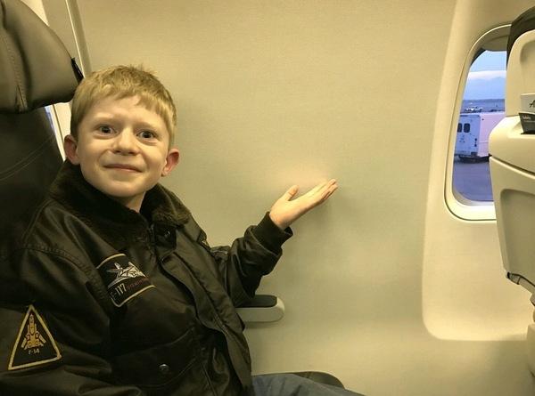 Ребенок попросил купить место возле окна