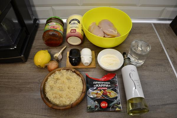 Быстрая курица в соусе карри Рецепт, Курица, Быстро, Ням-Ням, Длиннопост