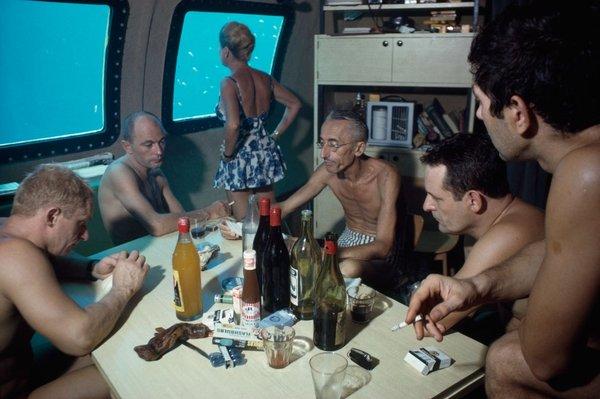 Подводная деревня Жака Ива Кусто. жак ив кусто, команда Кусто, подводная деревня, подводная одиссея, исследование, длиннопост, олдфаги оценят