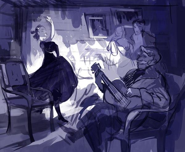 """Зарисовки к роману """"Война и мир"""" Ladyshalirin, Иллюстрации, Арт, Длиннопост"""