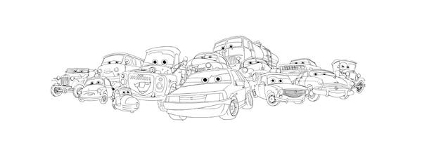 Русские Тачки... Иллюстрациии, арт, принт, фан-арт, цифровой рисунок, длиннопост
