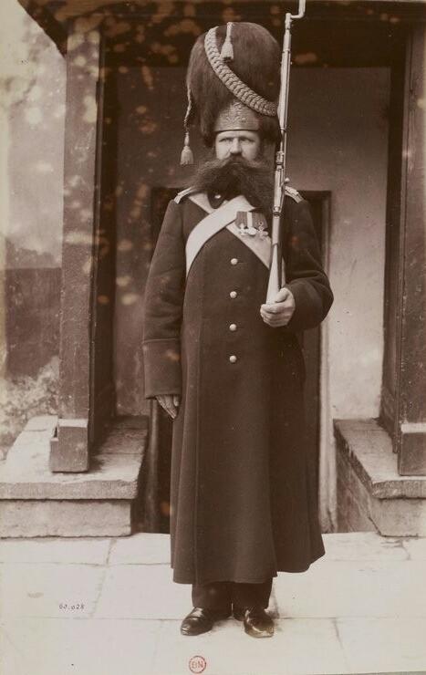 Военные Российской Империи в фотография. 19й век армия, 19 век, длиннопост, старое фото